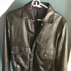 vintage spanish leather jacket